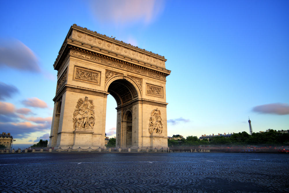 Triumfbuen - Paris i Frankrig