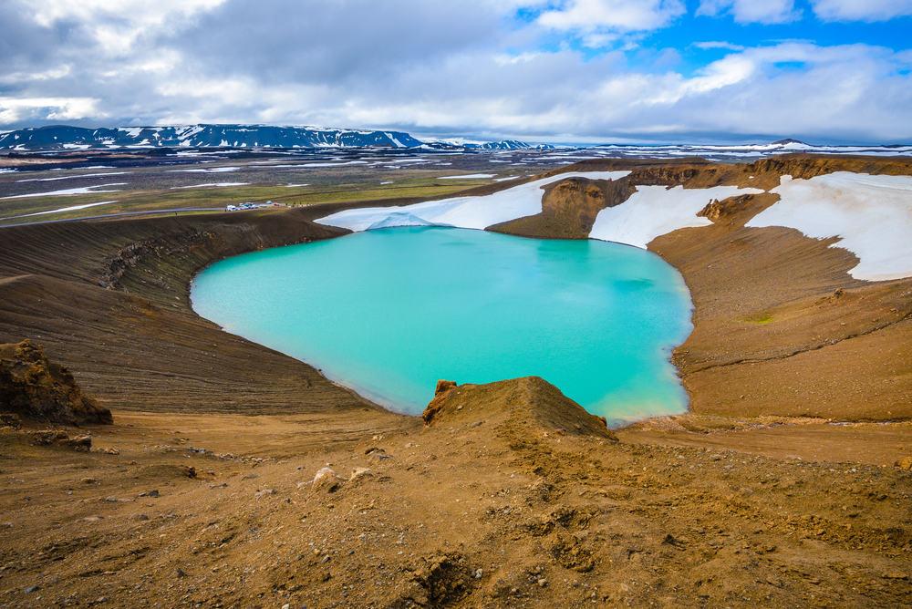 Viti krateret på Island