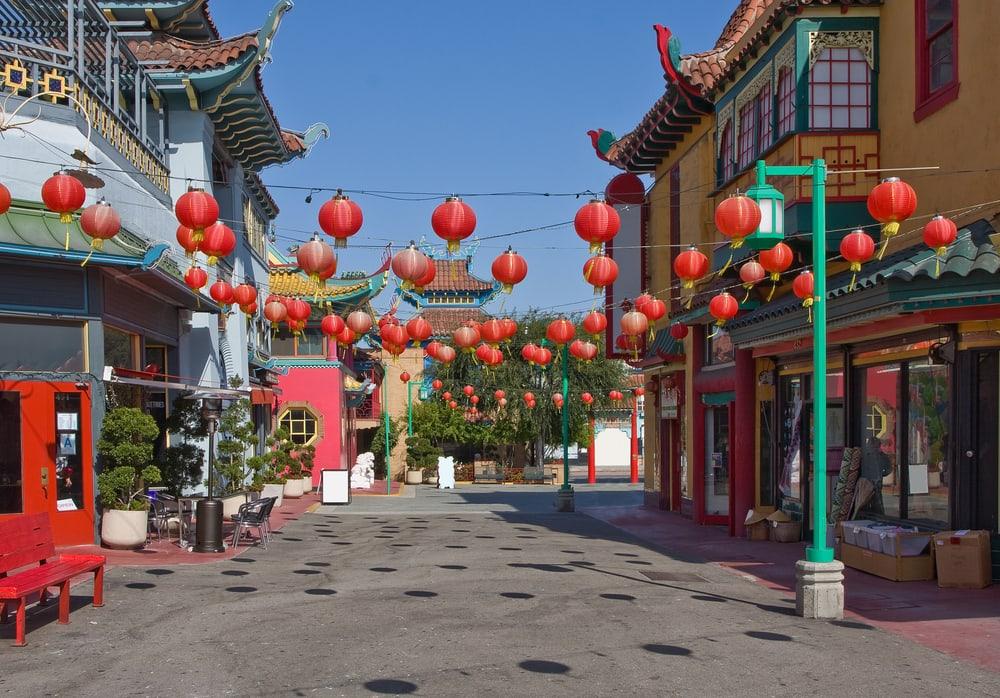 China Town i Los Angeles - Californien i USA
