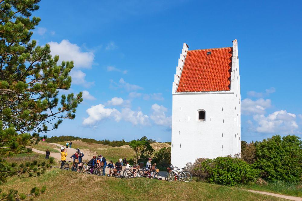Den tilsandede kirke - Skagen i Nordjylland