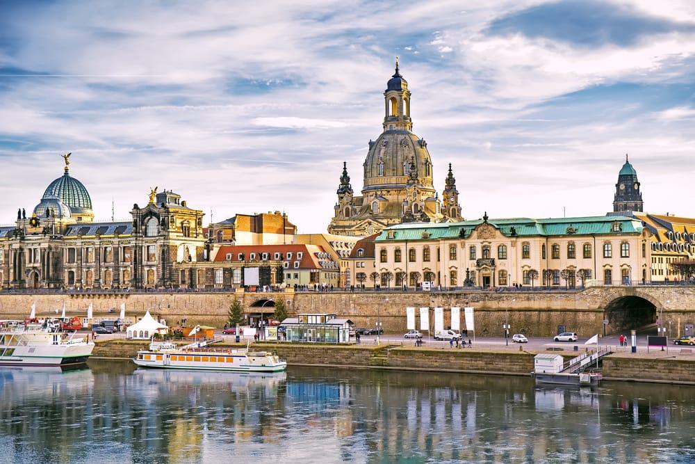 Dresden i Tyskland