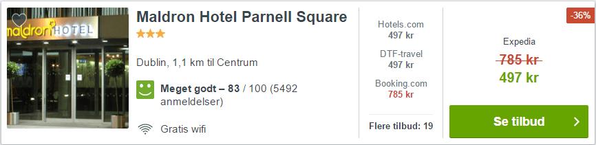 Maldron HOtel Parnell Square - Dublin i Irland