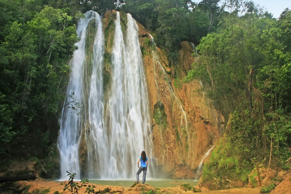 El Limon vandfaldet - Den Dominikanske Republik