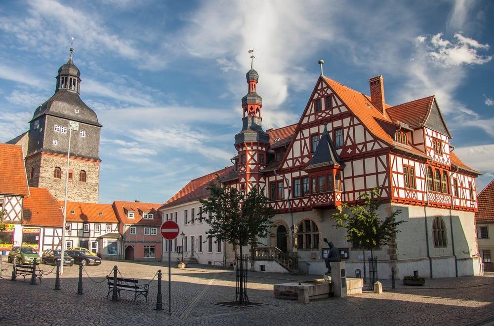 Harzgerode - Harzen i Tyskland