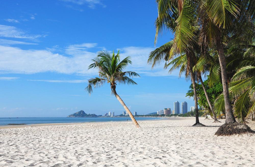 Hua Hin stranden - Thailand