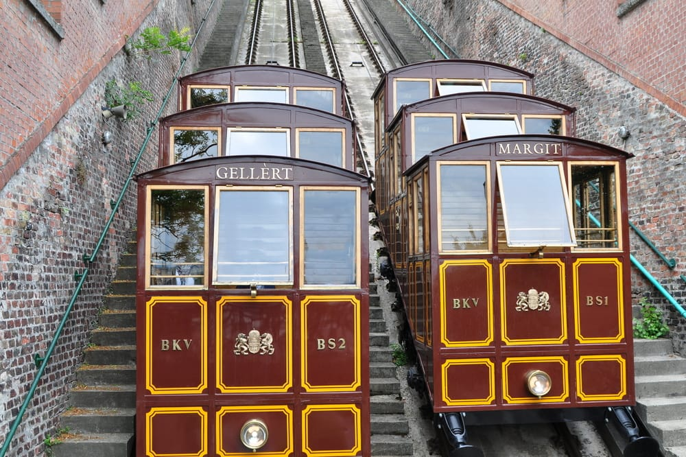 Kabelbane til Buda-slottet - Budapest i Ungarn