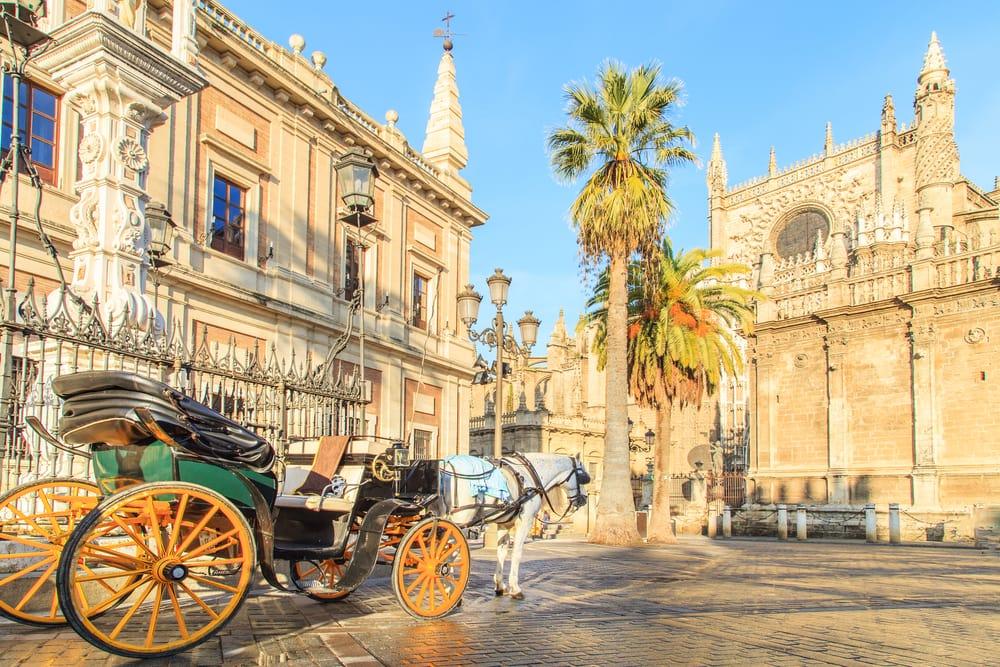Katedral i Sevilla - Spanien