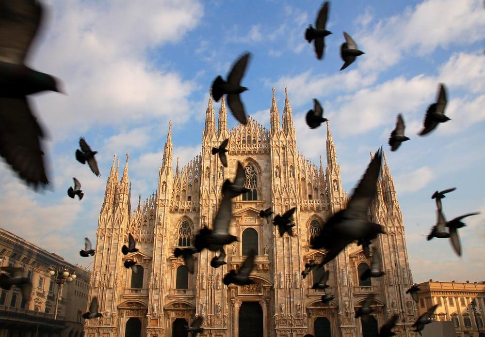 Katedralen i Milano - Italien