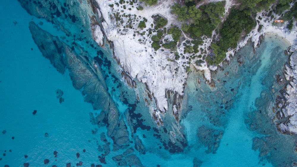 Smuk lagune - Halkidiki i Grækenland
