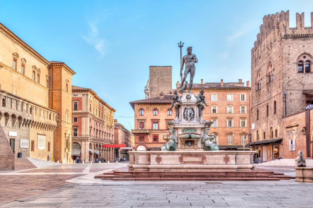 Piazza del Nettuno - Bologna i Italien