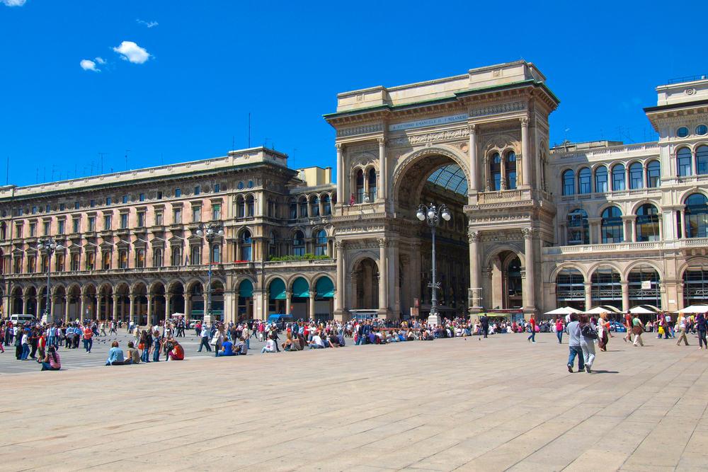 Piazza Duomo - Milano i Italien