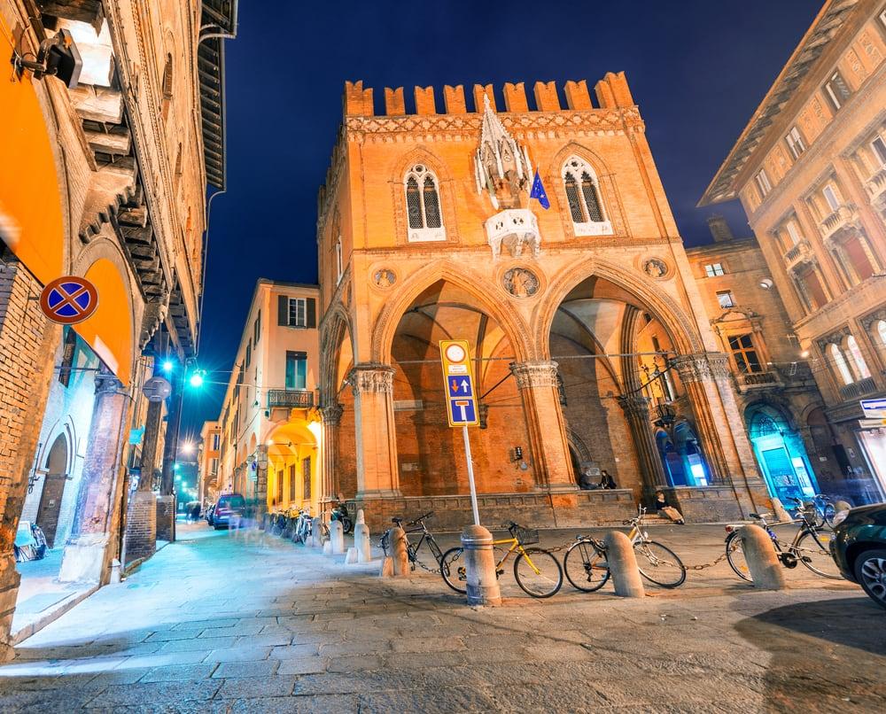 Piazza Maggiore - Bologna i Italien