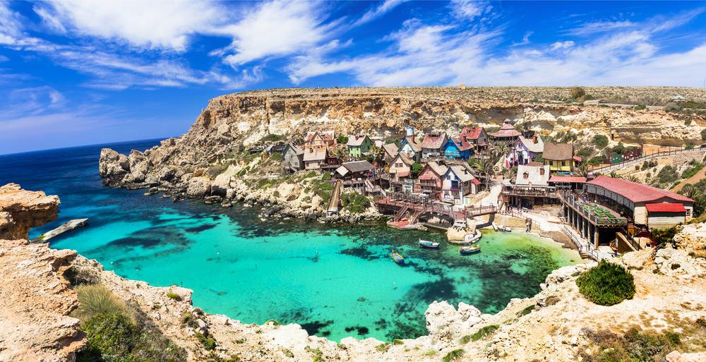 Popeye landsbyen - Malta i Spanien