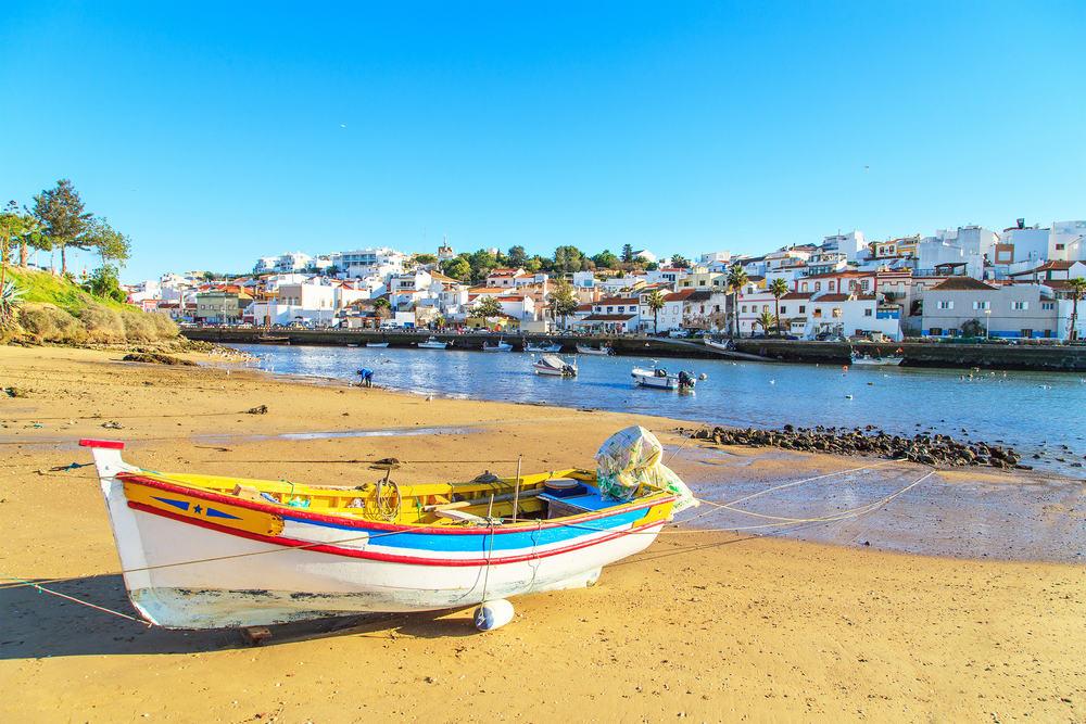 Portimao i Portugal