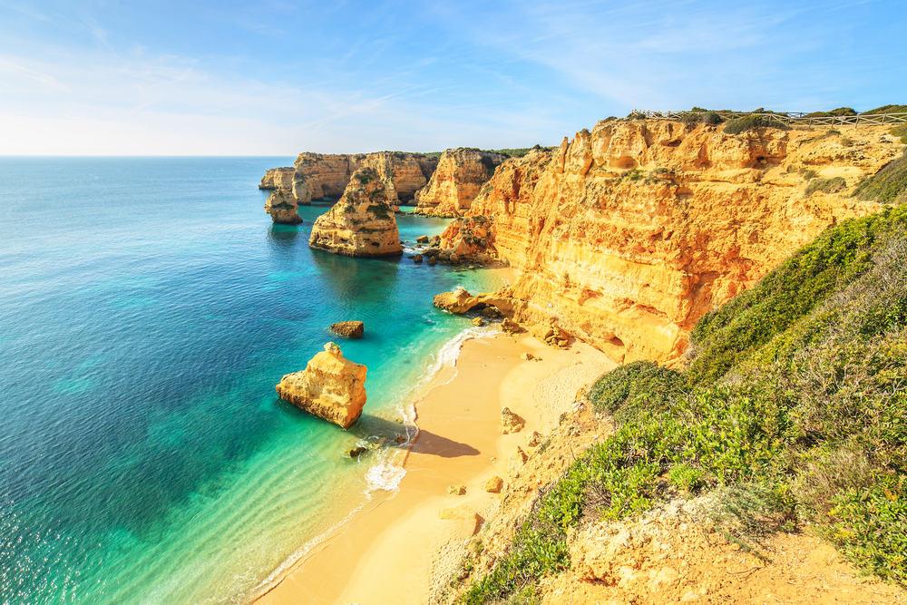 Praia da Rocha - Portimao i Portugal