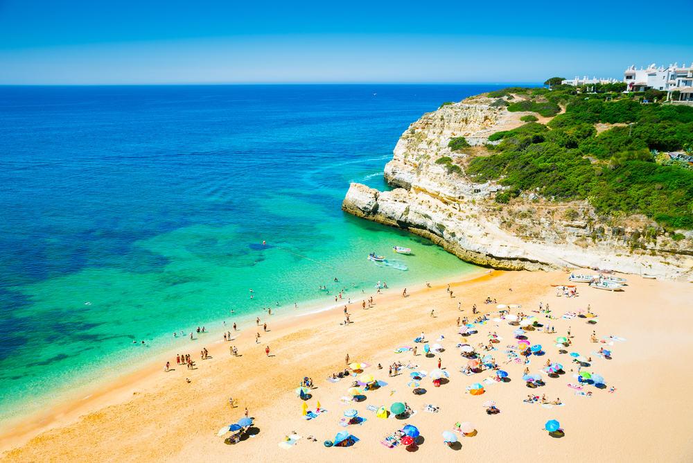 Praia - Portimao i Portugal