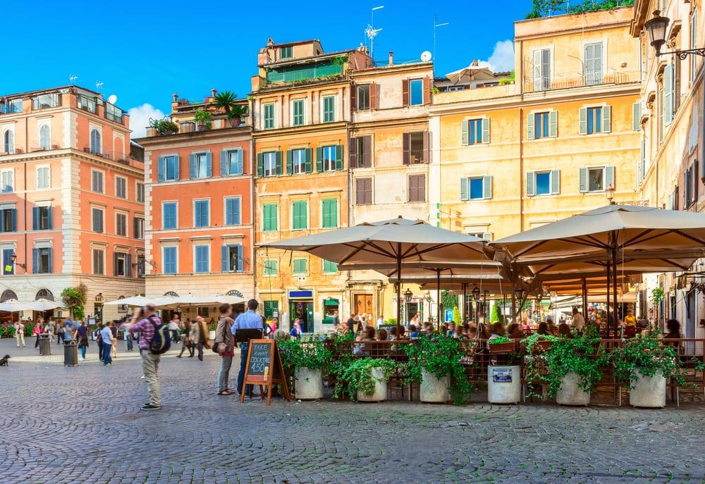 Santa Maria pladsen - Rom i Italien