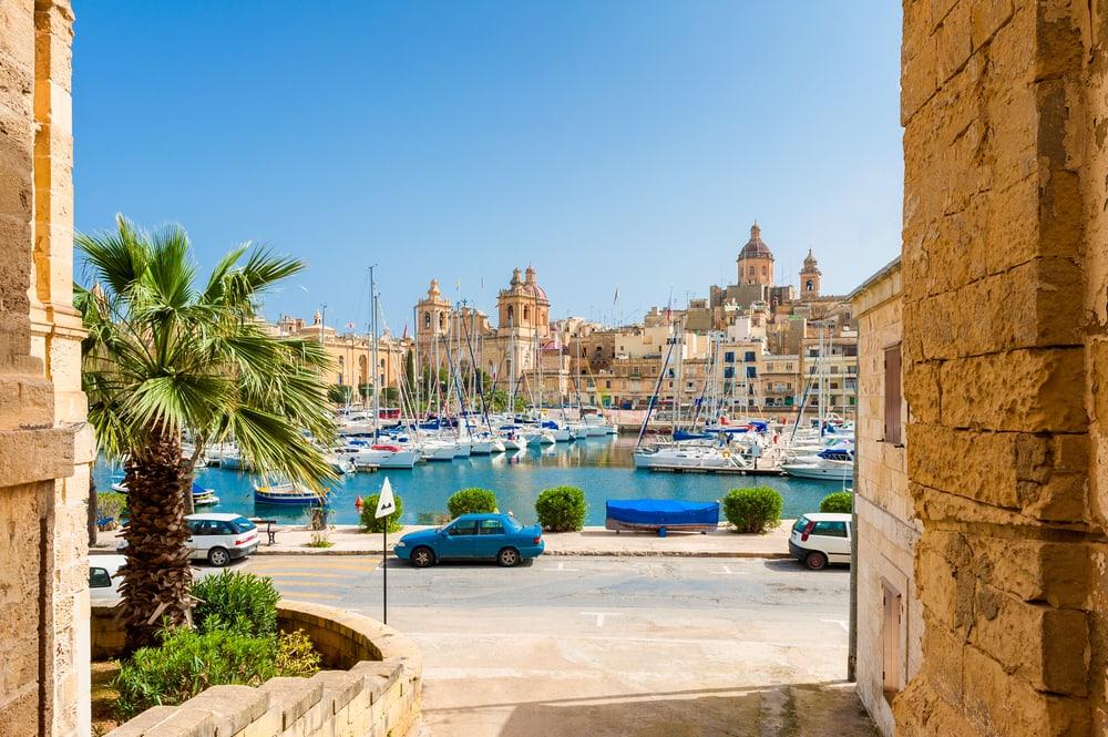 Senglea - Malta i Spanien