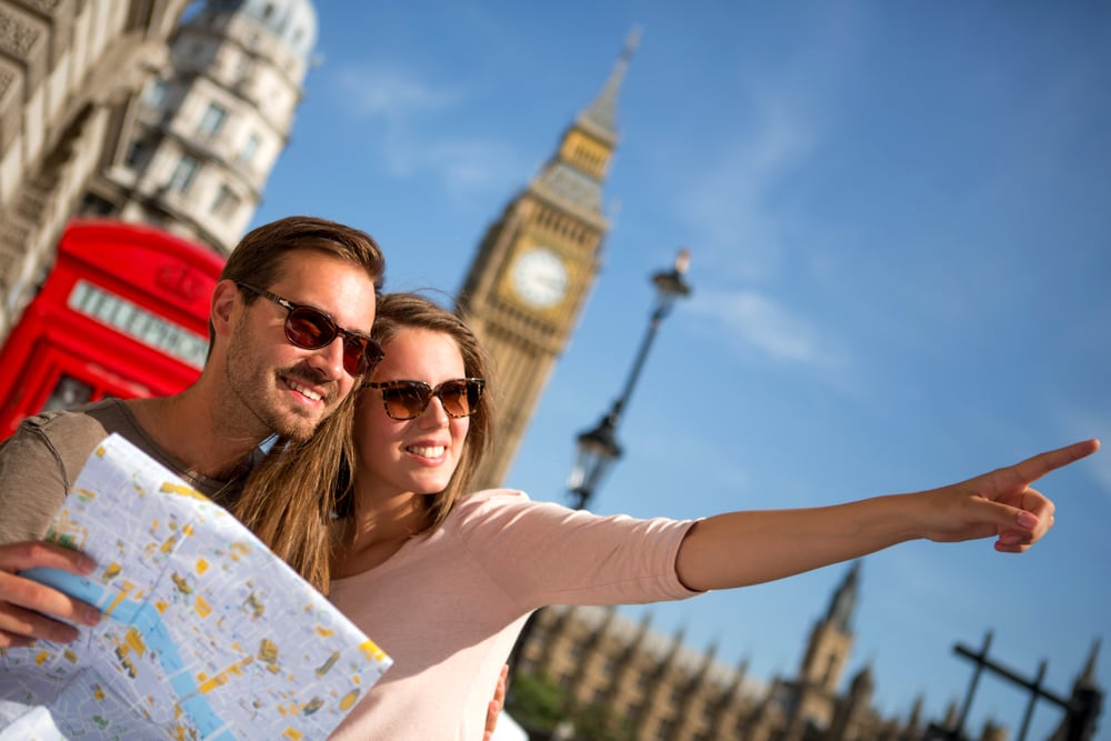 Turister i London - England