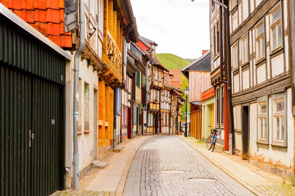 Wernigerode - Harzen i Tyskland