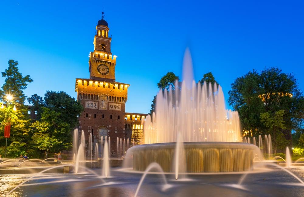 Castello Sforzesco - Milano i Italien