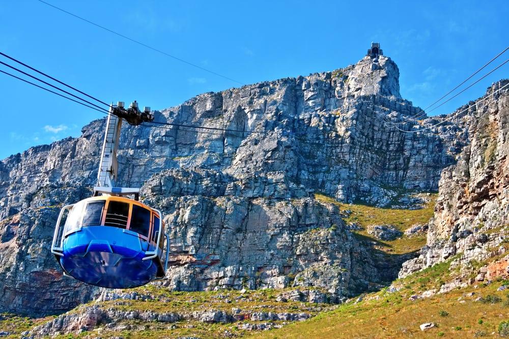 Kabelvogn i Cape Town - Sydafrika