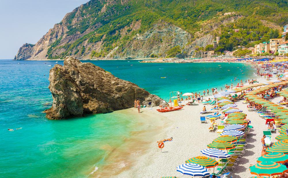 Monterosso - Ligurien i Italien