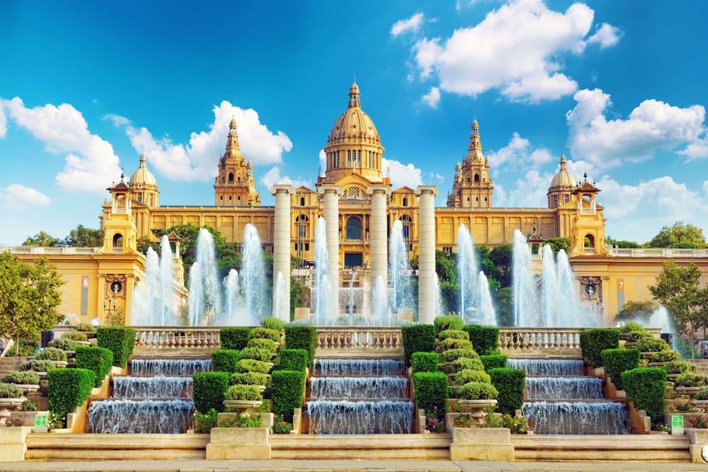 Placa de Espanya - Barcelona i Spanien