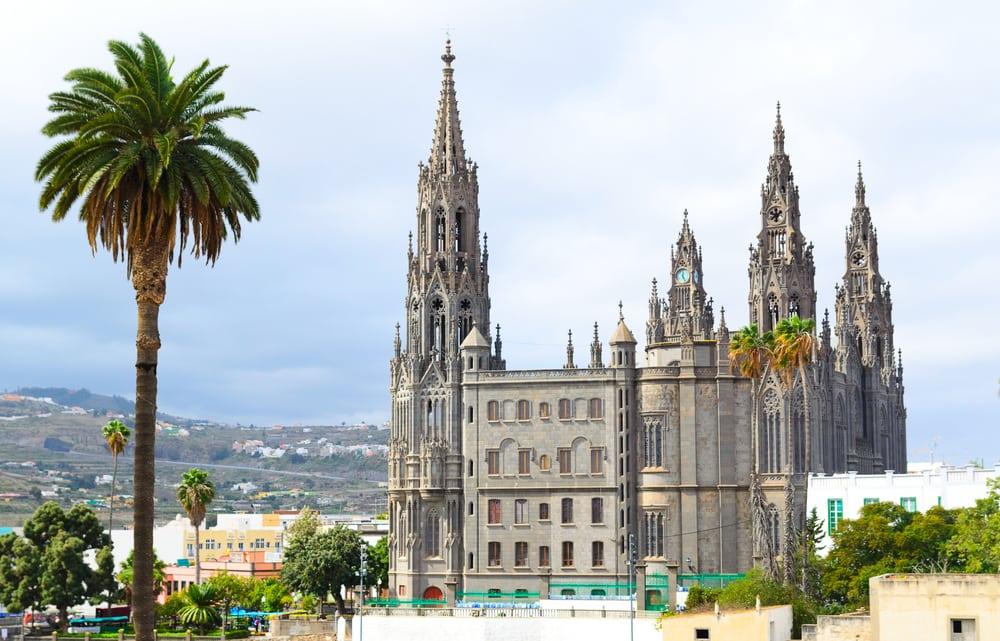 Bautista kirken i San Juan - Gran Canaria i Spanien