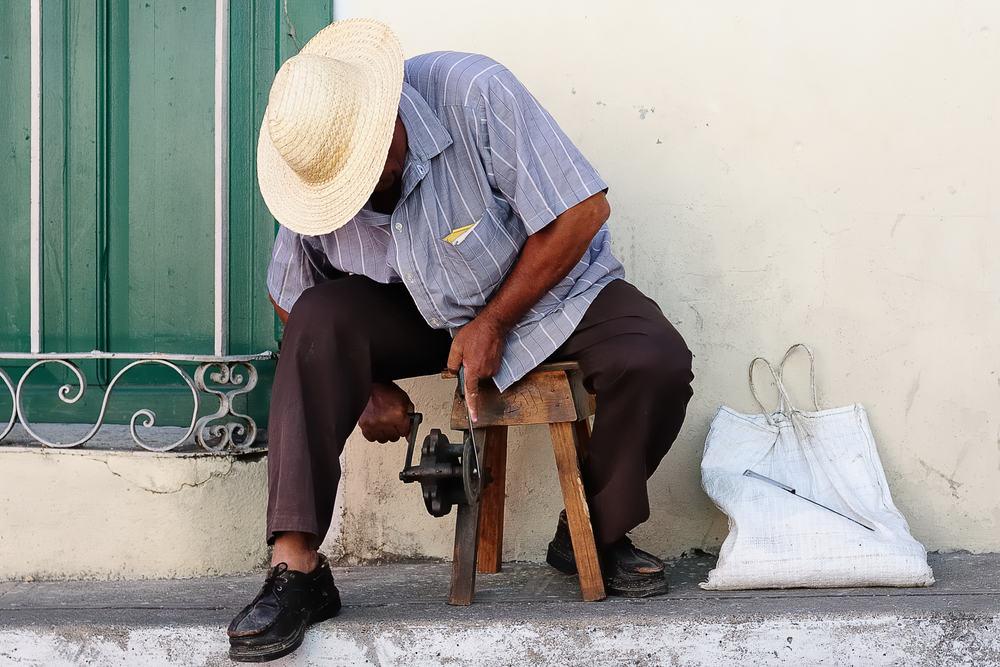 Skærsliber i Santiago de Cuba
