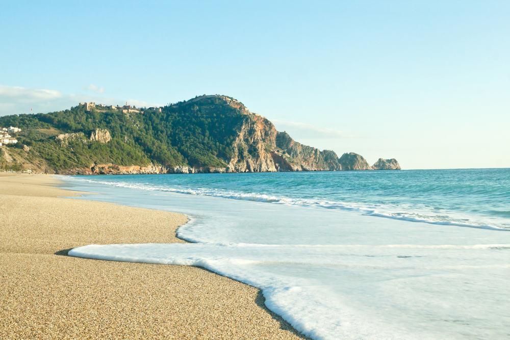 Kleopatra stranden - Alanya i Tyrkiet