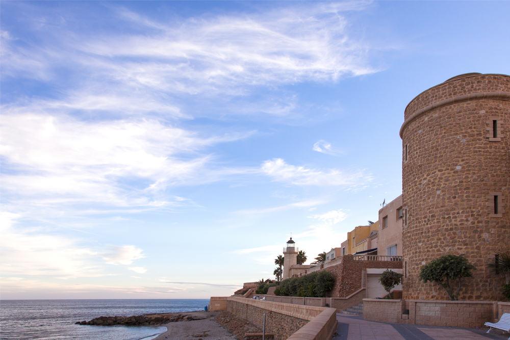 Roquetas de Mar i Spanien