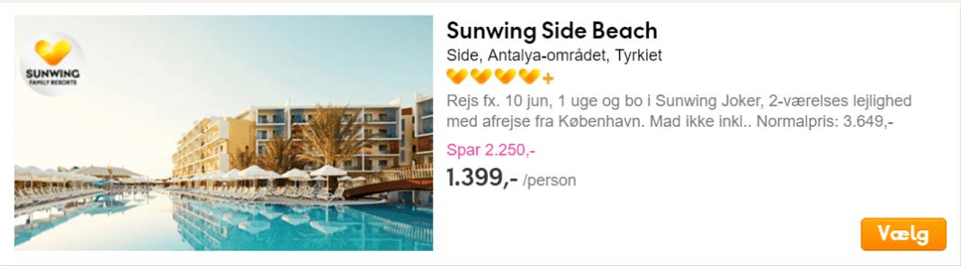 Side, Antalya-området, Tyrkiet