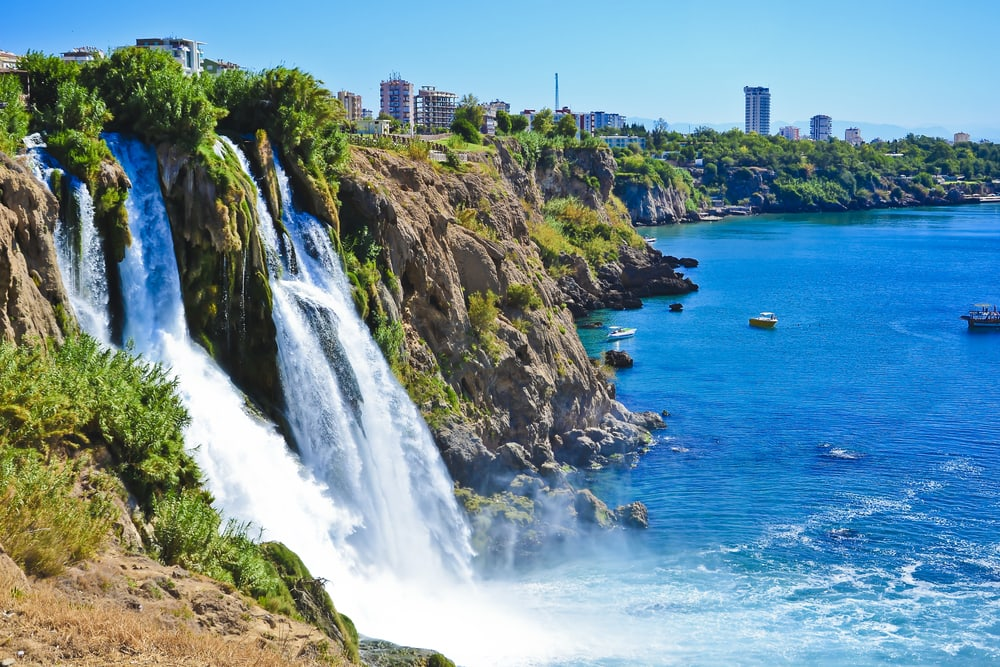Vandfald - Alanya i Tyrkiet