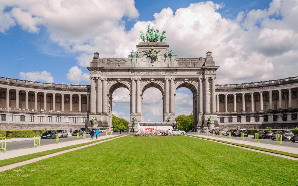 Arc de Triomphe - Bruxelles i Belgien