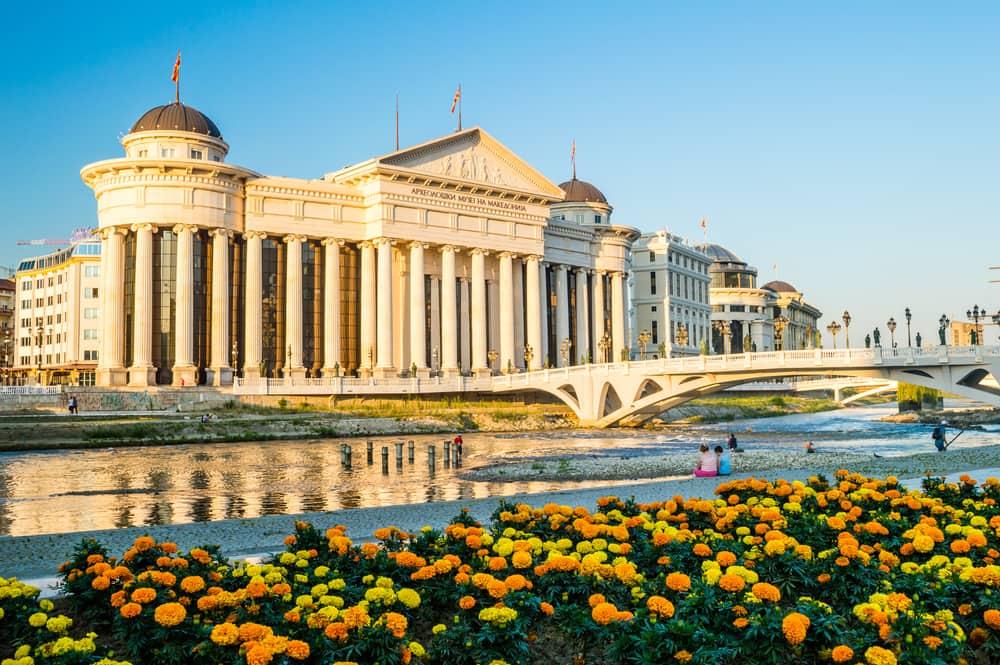 Arkæologisk Museum - Skopje i Markedonien