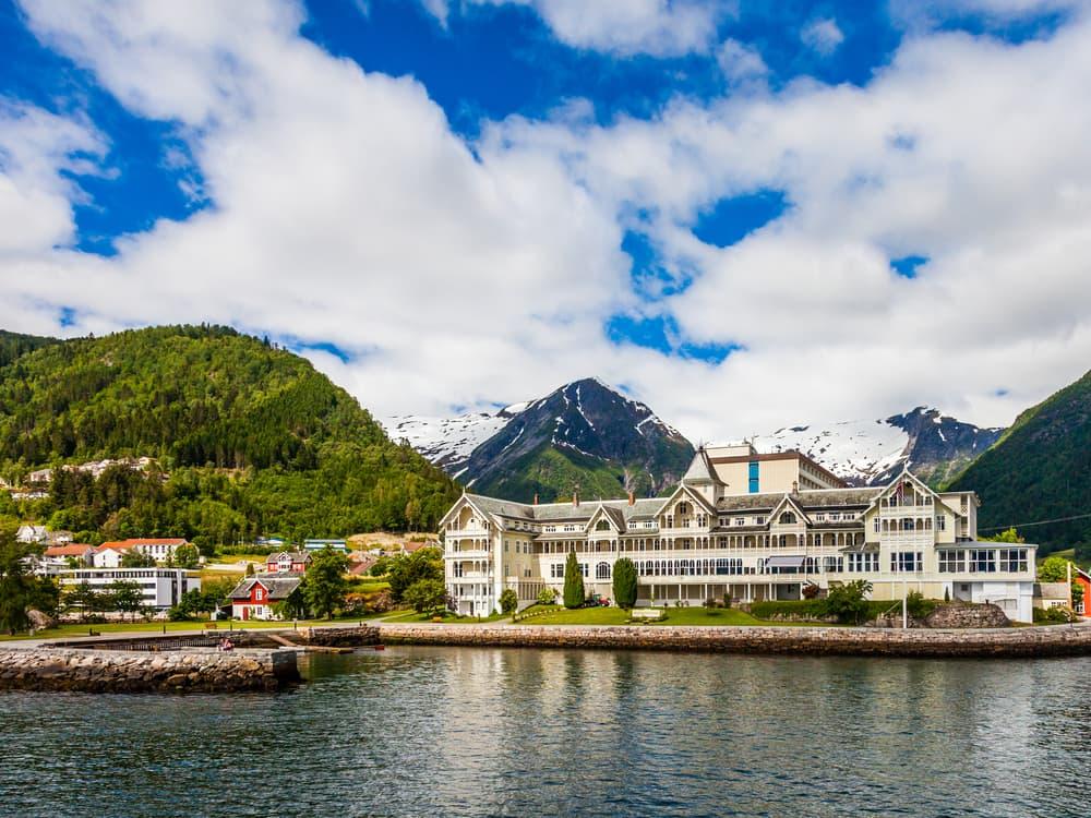Balestrand i Norge