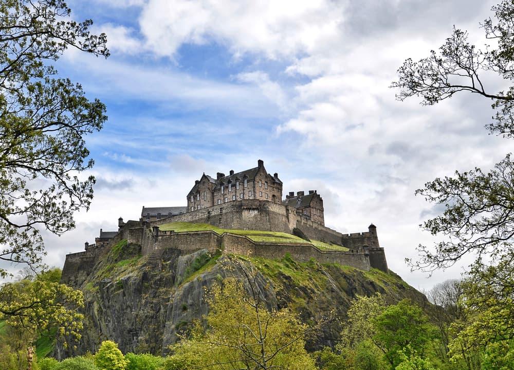 Edinburgh Castle - Edinburgh i Skotland