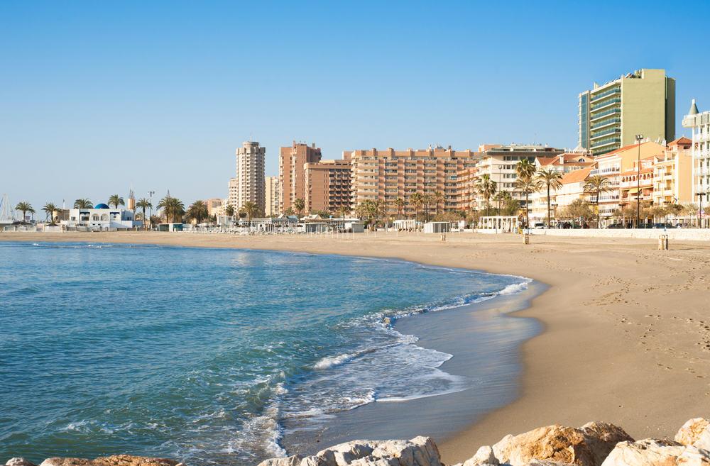 Fuengirola på Costa del Sol i Spanien