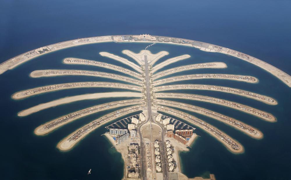 Jumeirah Palm i Dubai