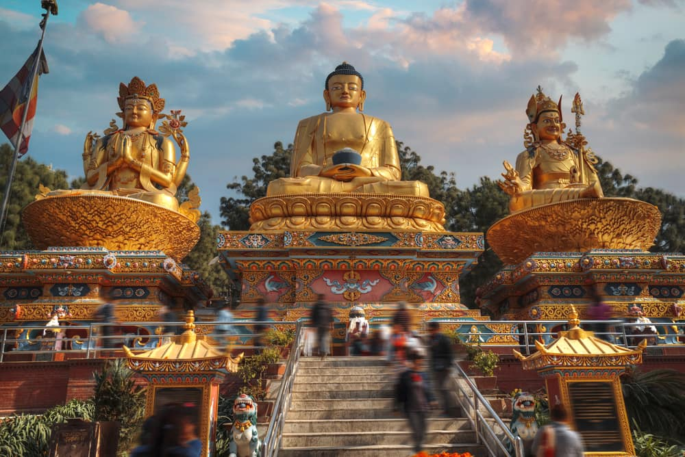 Kathmandu i Nepal