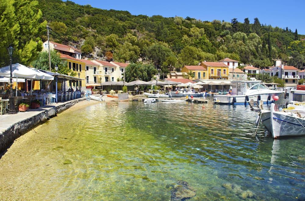 Kioni - Ithaca i Grækenland