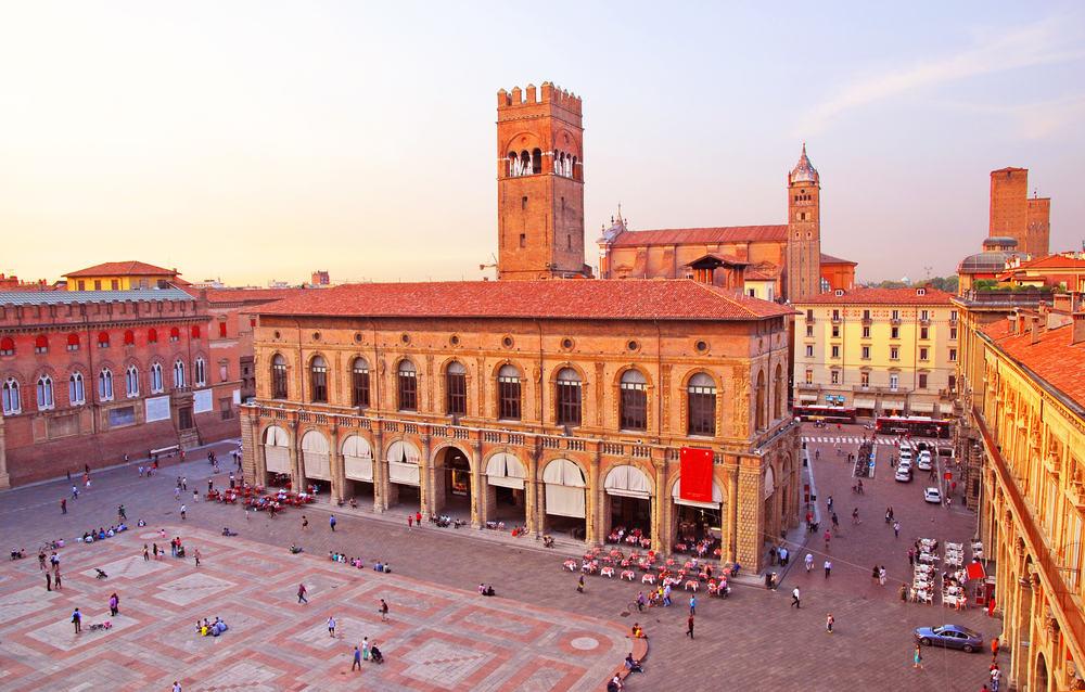 Kong Enzo Paladset - Bologna i Italien