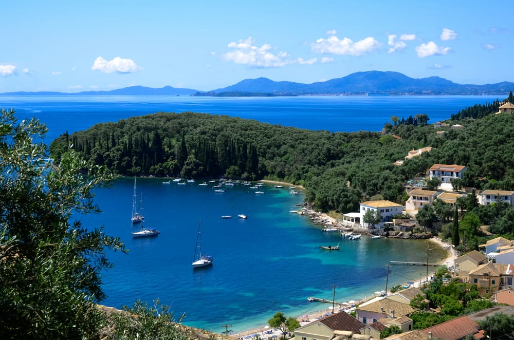 Chartertilbud til Korfu