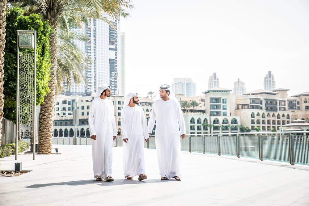 Lokale forretningsfolk - Dubai