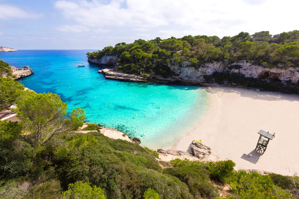 Majorca Cala Llombards Santanyi - Mallorca i Spanien