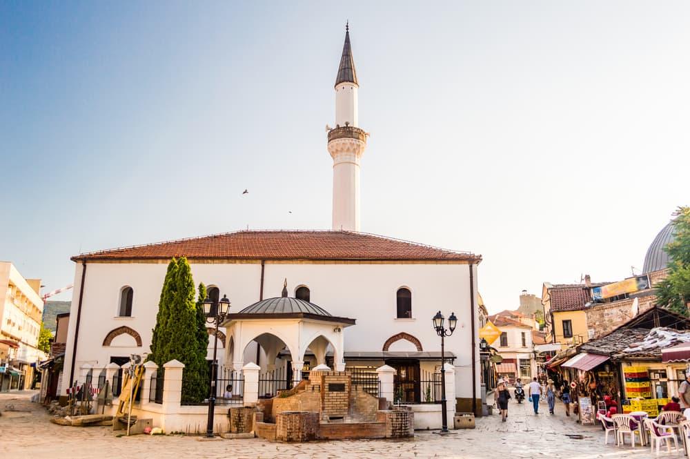 Murat Pasha moskeen - Skopje i Markedonien