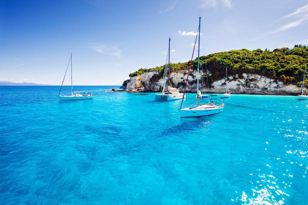 Øen Paxos - Korfu i Grækenland