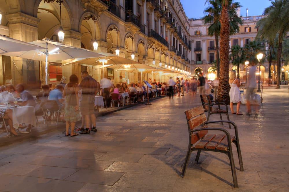 Placa Reial - Barcelona i Spanien