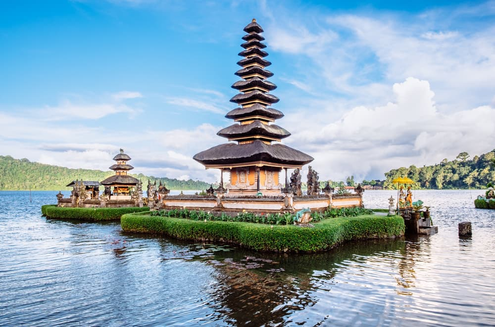 Pura Ulun Danu Bratan - Bali i Indonesien